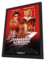 Starsky & Hutch - 11 x 17 Movie Poster - Style A - in Deluxe Wood Frame