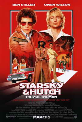 Starsky & Hutch - 27 x 40 Movie Poster - Style A