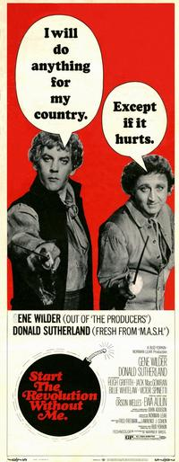 Start the Revolution without Me - 14 x 36 Movie Poster - Insert Style A