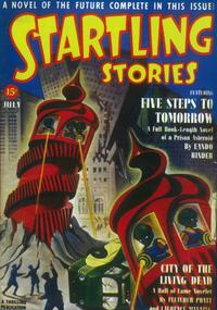 Startling Stories (Pulp) - 11 x 17 Pulp Poster - Style B