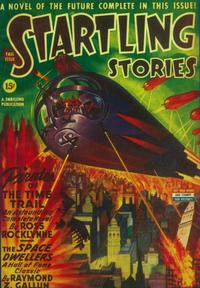 Startling Stories (Pulp) - 11 x 17 Pulp Poster - Style C