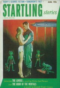 Startling Stories (Pulp) - 11 x 17 Pulp Poster - Style D