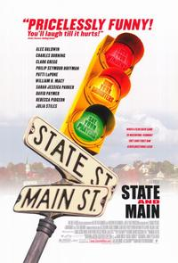 State and Main - 11 x 17 Movie Poster - Style A
