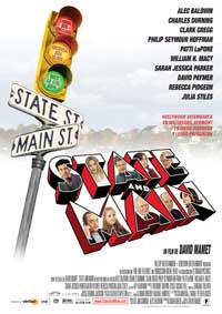 State and Main - 11 x 17 Movie Poster - Spanish Style A