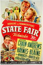 State Fair - 11 x 17 Movie Poster - Style A