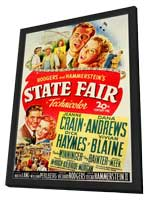 State Fair - 27 x 40 Movie Poster - Style A - in Deluxe Wood Frame