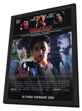 State of Grace - 11 x 17 Movie Poster - Style B - in Deluxe Wood Frame