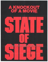 State of Siege - 27 x 40 Movie Poster - Style A