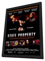 State Property - 27 x 40 Movie Poster - Style A - in Deluxe Wood Frame