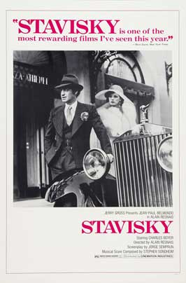 Stavisky - 11 x 17 Movie Poster - Style B