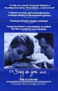 Stay As You Are - 11 x 17 Movie Poster - Style A