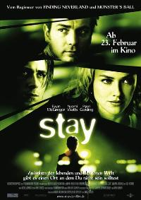 Stay - 27 x 40 Movie Poster - German Style A