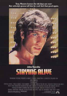 Staying Alive - 11 x 17 Movie Poster - Style A