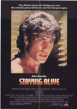 Staying Alive - 27 x 40 Movie Poster - Style A