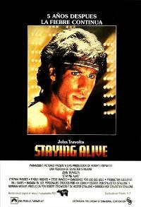 Staying Alive - 11 x 17 Movie Poster - Spanish Style A