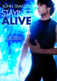 Staying Alive - 11 x 17 Movie Poster - German Style A