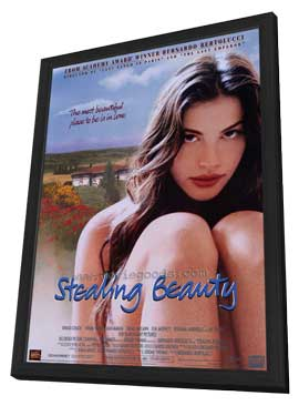 Stealing Beauty - 27 x 40 Movie Poster - Style A - in Deluxe Wood Frame