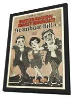 Steamboat Bill, Jr. - 11 x 17 Movie Poster - Style B - in Deluxe Wood Frame