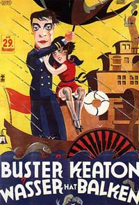 Steamboat Bill, Jr. - 11 x 17 Movie Poster - Swedish Style A