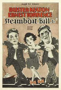 Steamboat Bill, Jr. - 11 x 17 Movie Poster - Style B