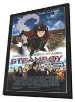 Steamboy - 27 x 40 Movie Poster - Style A - in Deluxe Wood Frame