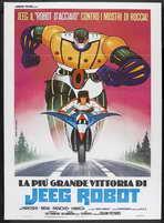 Steel Jeeg (TV) - 27 x 40 Movie Poster - Italian Style A