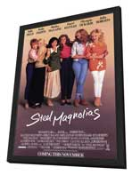 Steel Magnolias - 27 x 40 Movie Poster - Style A - in Deluxe Wood Frame