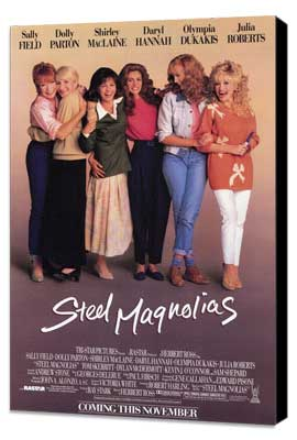 Steel Magnolias - 27 x 40 Movie Poster - Style A - Museum Wrapped Canvas