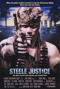 Steele Justice - 27 x 40 Movie Poster - Style A