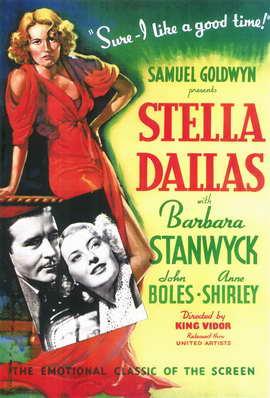 Stella Dallas - 11 x 17 Movie Poster - Style A