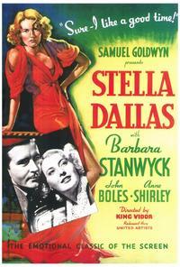 Stella Dallas - 27 x 40 Movie Poster - Style A