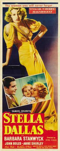 Stella Dallas - 14 x 36 Movie Poster - Insert Style A