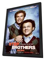 Step Brothers - 27 x 40 Movie Poster - Style A - in Deluxe Wood Frame