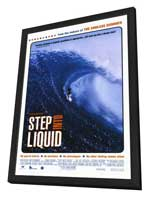 Step Into Liquid - 11 x 17 Movie Poster - Style A - in Deluxe Wood Frame