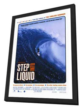 Step Into Liquid - 27 x 40 Movie Poster - Style A - in Deluxe Wood Frame