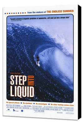 Step Into Liquid - 11 x 17 Movie Poster - Style A - Museum Wrapped Canvas