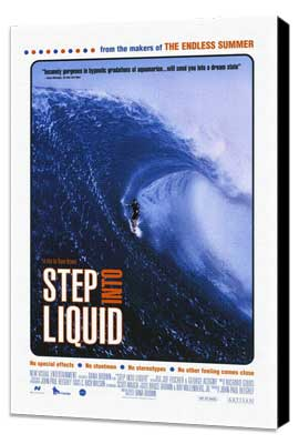 Step Into Liquid - 27 x 40 Movie Poster - Style A - Museum Wrapped Canvas