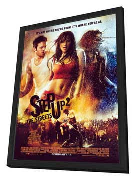 Step Up 2: The Streets - 27 x 40 Movie Poster - Style A - in Deluxe Wood Frame