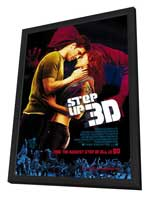 Step Up 3-D - 27 x 40 Movie Poster - Style A - in Deluxe Wood Frame