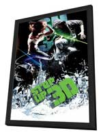 Step Up 3-D - 27 x 40 Movie Poster - Style C - in Deluxe Wood Frame