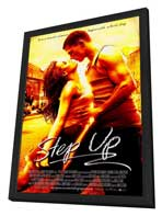 Step Up - 27 x 40 Movie Poster - Style A - in Deluxe Wood Frame