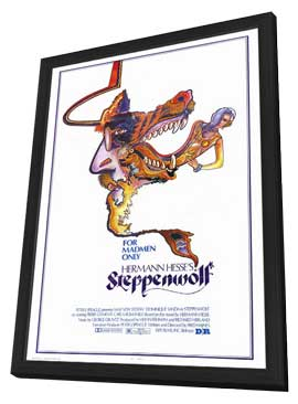 Steppenwolf - 27 x 40 Movie Poster - Style A - in Deluxe Wood Frame