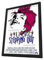 Stepping Out - 11 x 17 Movie Poster - Style A - in Deluxe Wood Frame