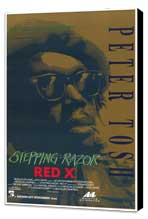 Stepping Razor - Red X - 27 x 40 Movie Poster - Style A - Museum Wrapped Canvas