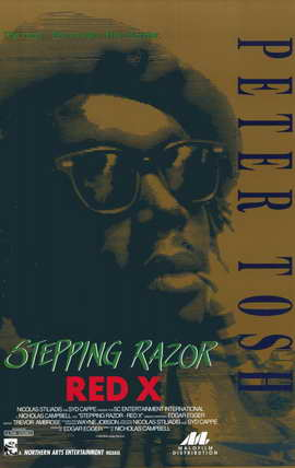 Stepping Razor - Red X - 11 x 17 Movie Poster - Style A