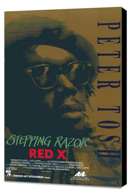 Stepping Razor - Red X - 11 x 17 Movie Poster - Style A - Museum Wrapped Canvas