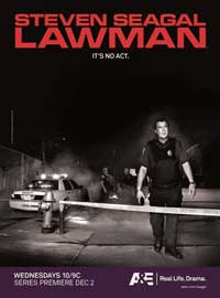 Steven Seagal: Lawman - 11 x 17 TV Poster - Style A