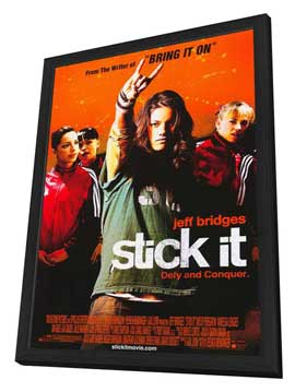 Stick It - 11 x 17 Movie Poster - Style A - in Deluxe Wood Frame