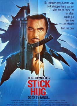 Stick - 11 x 17 Movie Poster - Danish Style A
