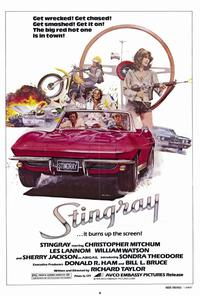 Stingray - 43 x 62 Movie Poster - Bus Shelter Style A